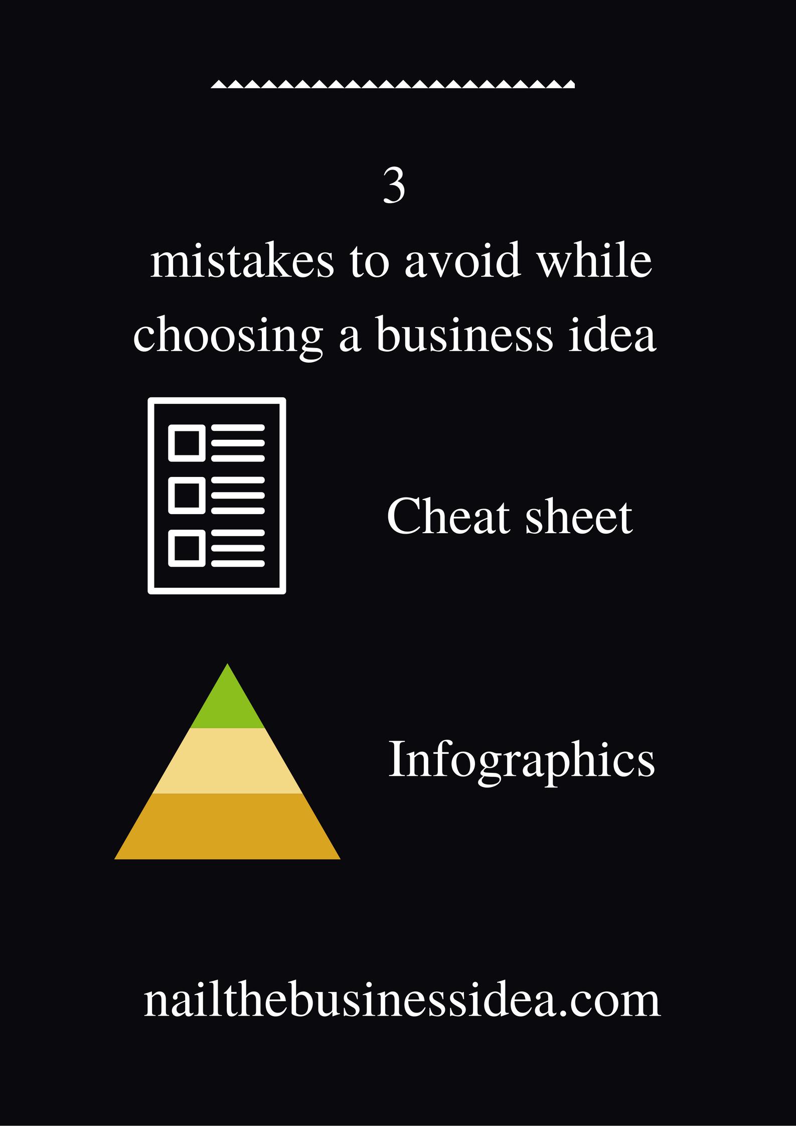 3 business idea mistakes to avoid: Nail the business idea